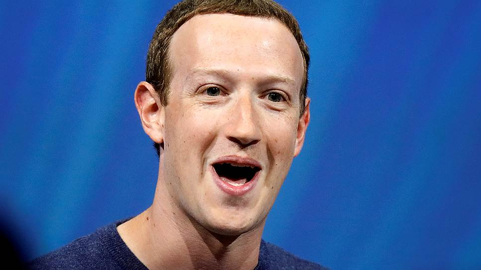 Гендиректор Facebook Марк Цукерберг