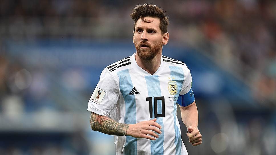 Аргентинский футболист Лионель Месси