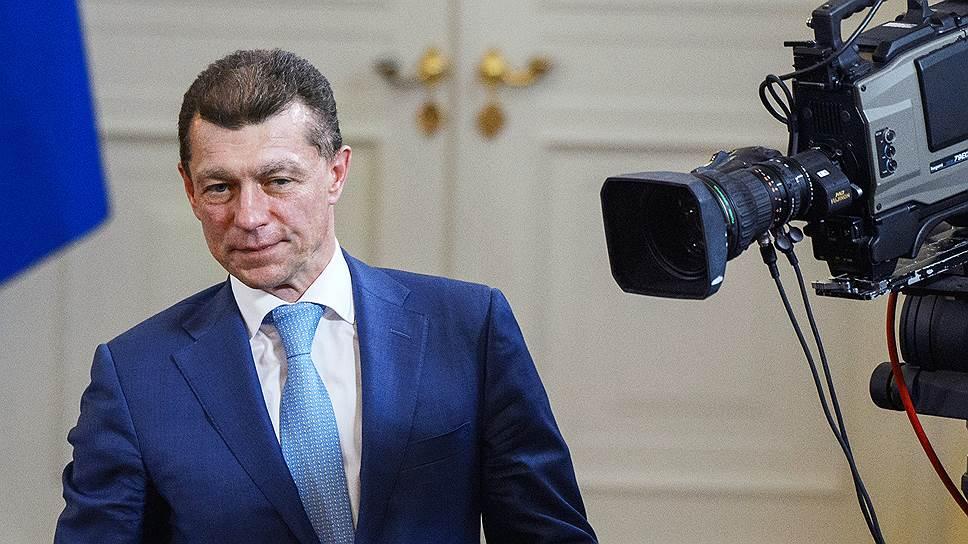 Министр труда России Максим Топилин