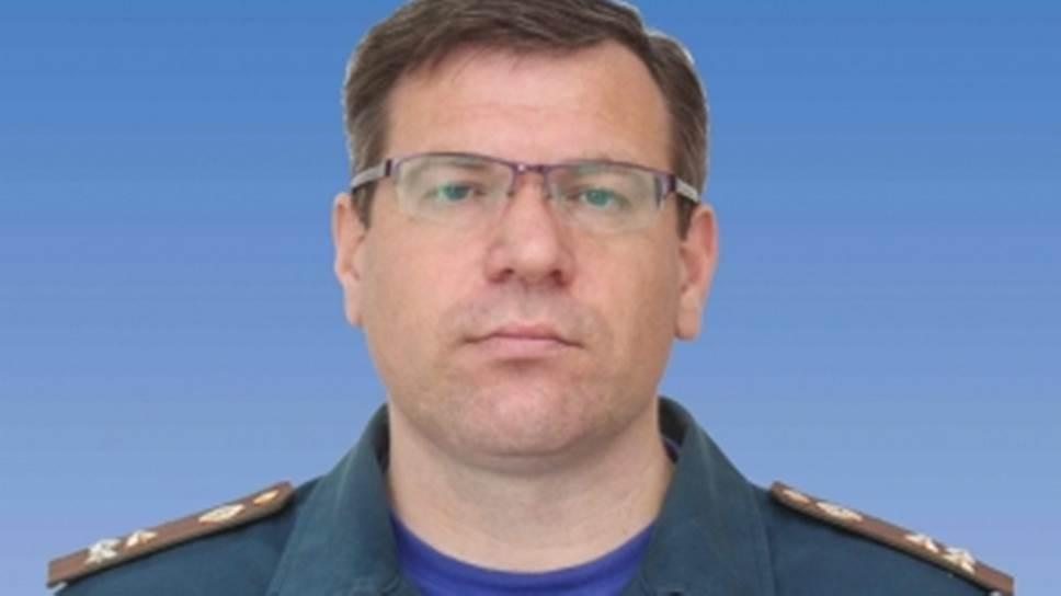 Начальник главного управления МЧС по Томской области Михаил Бегун