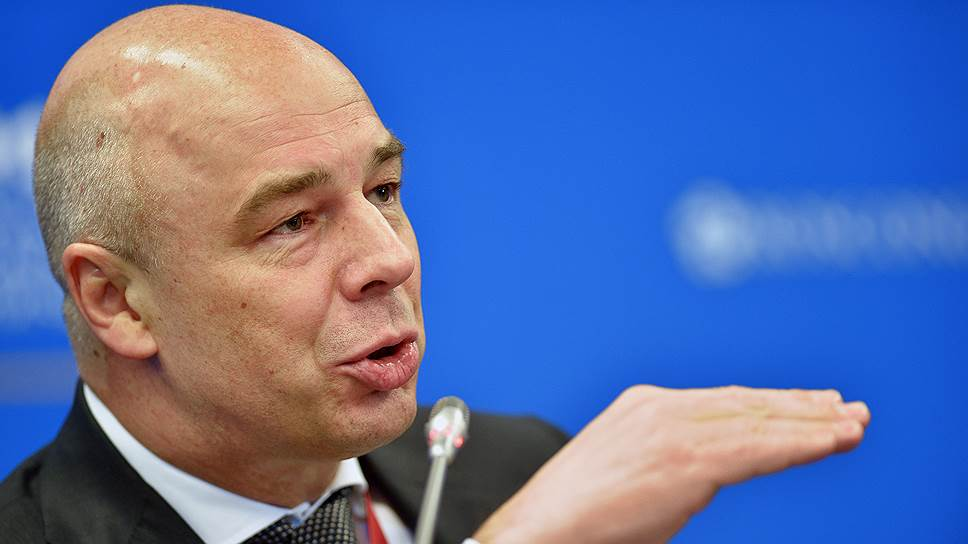 Первый вице-премьер, министр финансов России Антон Силуанов