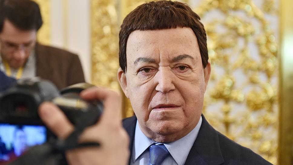 Певец и депутат Госдумы Иосиф Кобзон