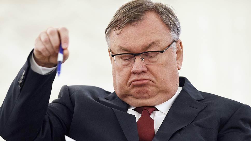 Президент—председатель правления ВТБ Андрей Костин