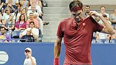 Федерер не прошел в четвертьфинал US Open