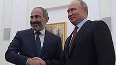 Никол Пашинян заявил о принципе невмешательства в отношениях Еревана и Москвы