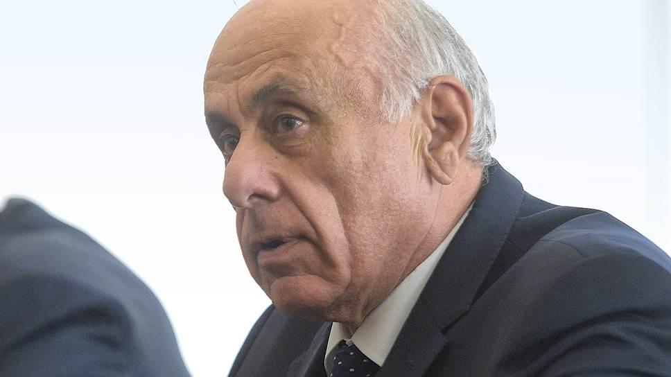Премьер-министр Абхазии Геннадий Гагулия