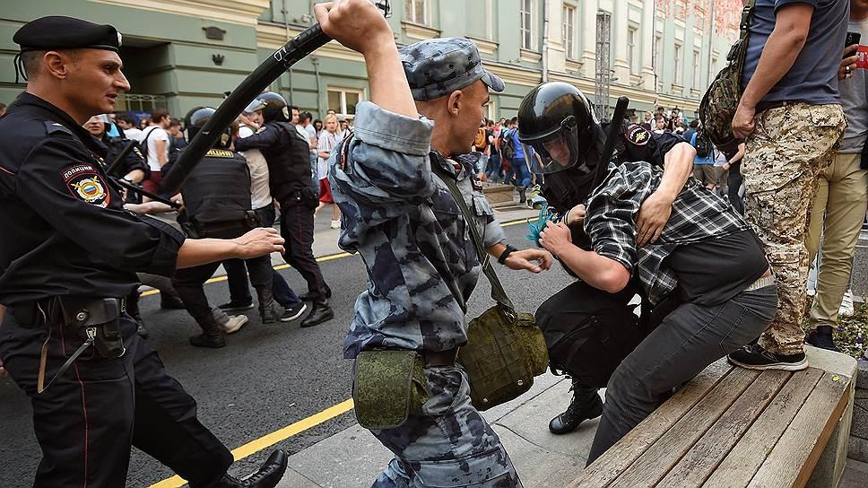 Как проходили акции против пенсионной реформы в разных городах России