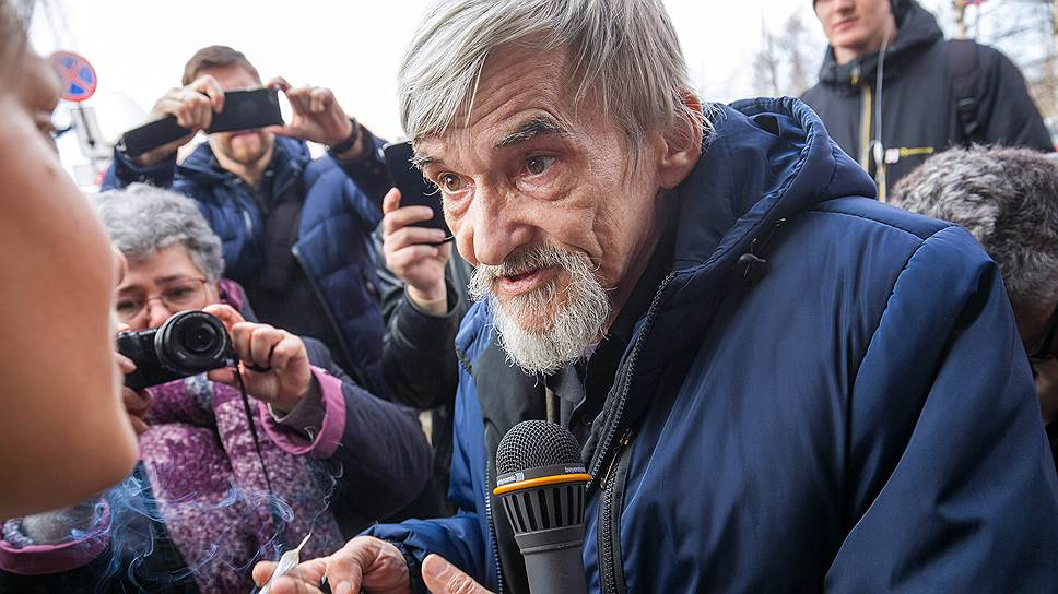 Глава карельского «Мемориала» Юрий Дмитриев