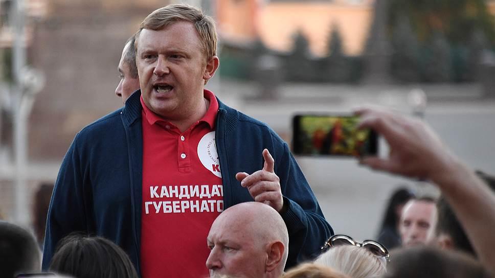Кандидат от КПРФ Андрей Ищенко