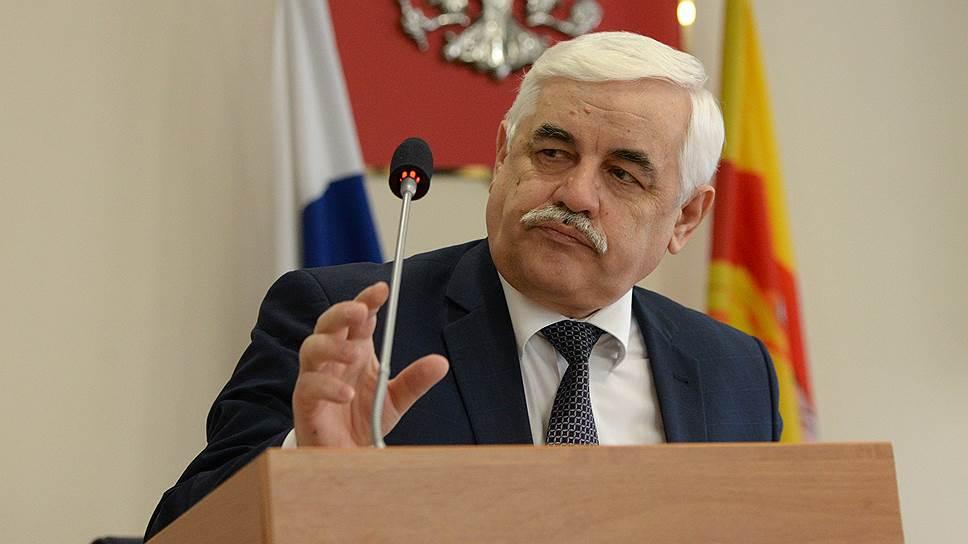 Заместитель губернатора Воронежской области Юрий Агибалов