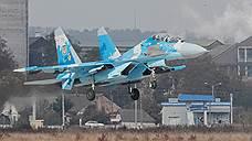 На Украине разбился Су-27