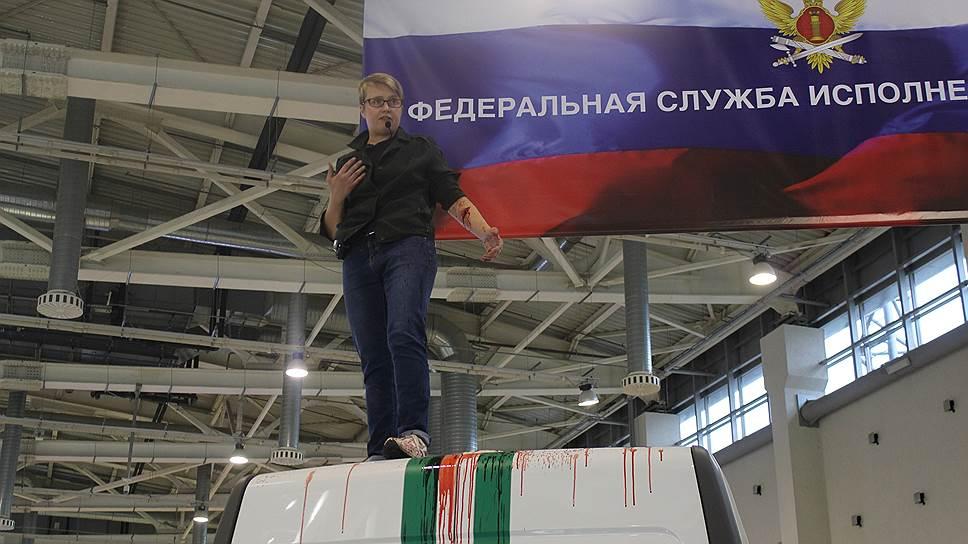 """Активистка партии """"Другая Россия"""" Ольга Шалина"""