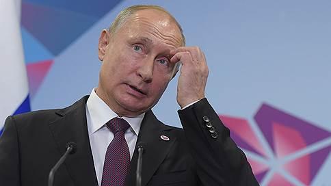 Путин: отказ от участия в Давосе не скажется на экономике России