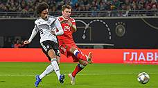 Сборная России по футболу крупно проиграла Германии в товарищеском матче