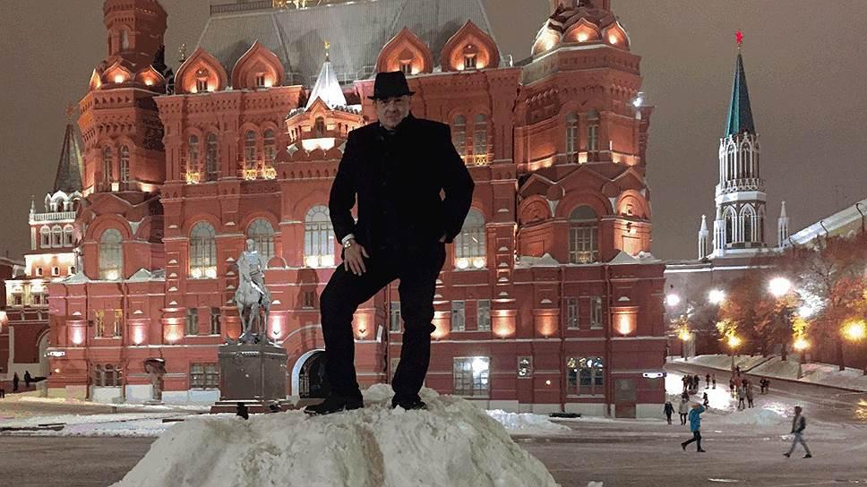 Мохаммед Амер Алчвики в Москве