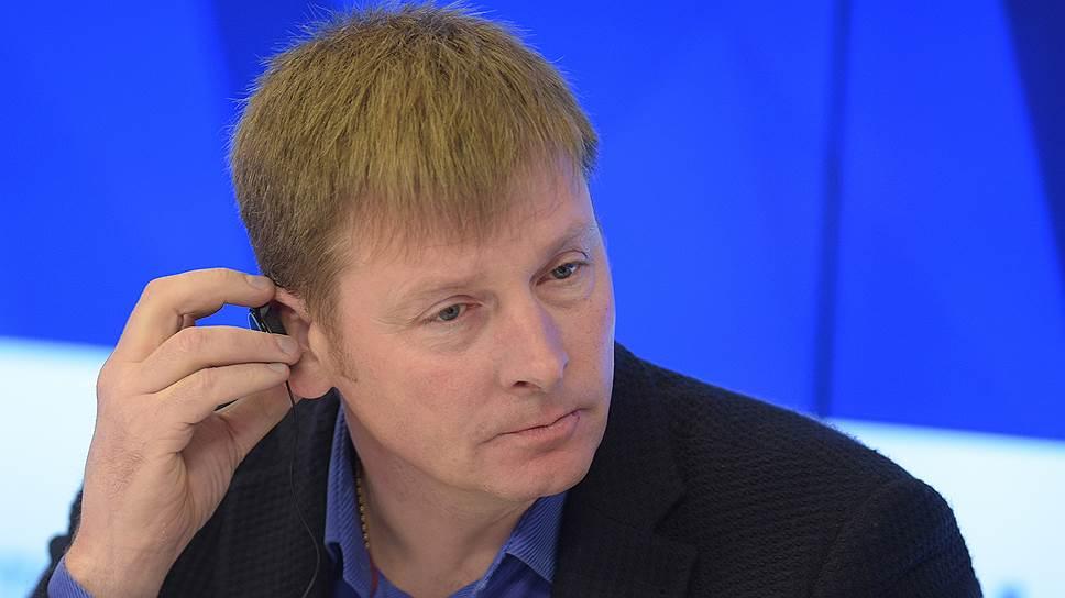 Олимпийский чемпион Александр Зубков