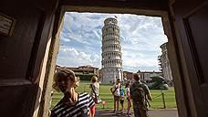 Пизанская башня выпрямилась на полградуса