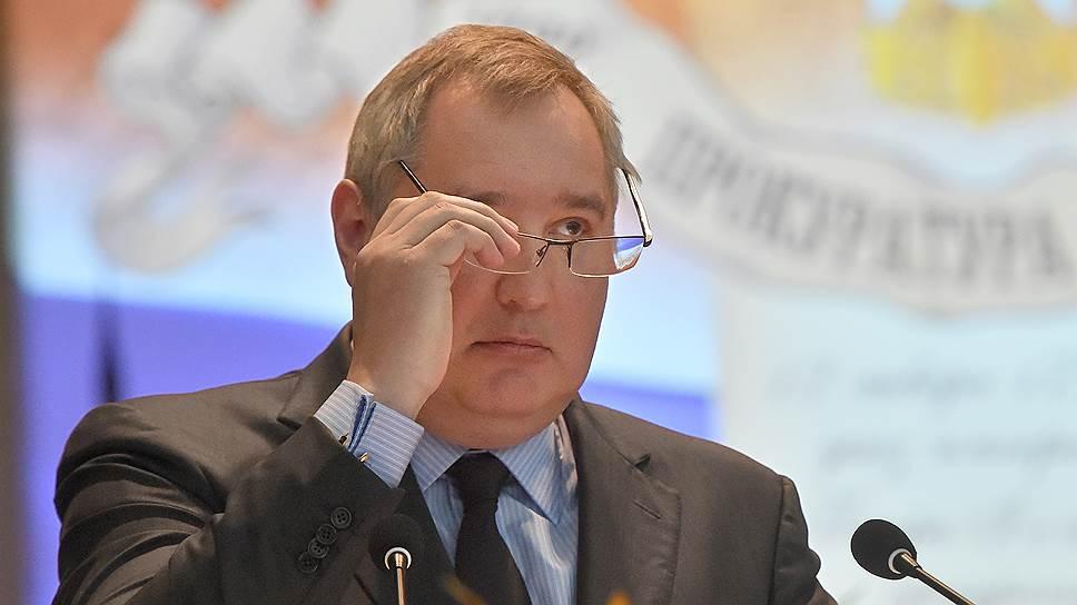 Глава госкорпорации «Роскосмос» Дмитрий Рогозин