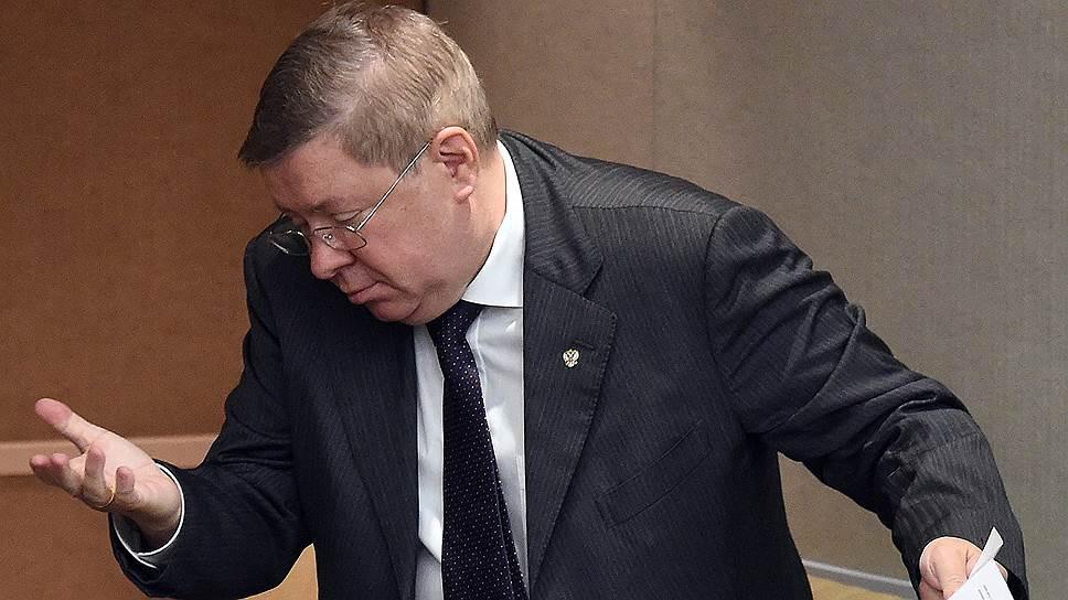Заместитель председателя Центрального Банка России Александр Торшин