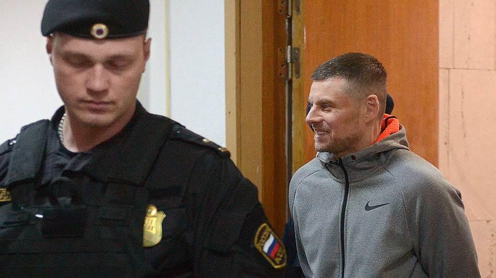 Обвиняемый Андрей Каминов