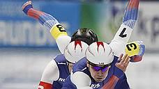 Российские конькобежцы выиграли бронзу в командном спринте на этапе Кубка мира