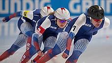 Российские конькобежки выиграли серебро в командном спринте на этапе Кубка мира