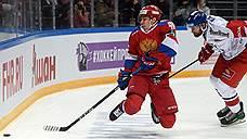 Сборная России по хоккею обыграла чехов в матче Кубка «Первого канала»
