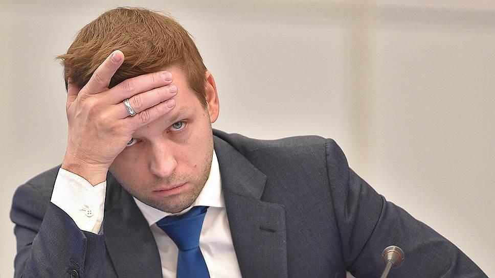 Бывший глава Росимущества—замминистра экономического развития России Дмитрий Пристансков