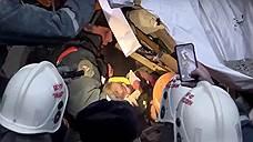Под завалами в Магнитогорске найден живым 11-месячный ребенок