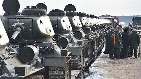 Переданные Лаосом Т-34 прибыли в подмосковный Наро-Фоминск