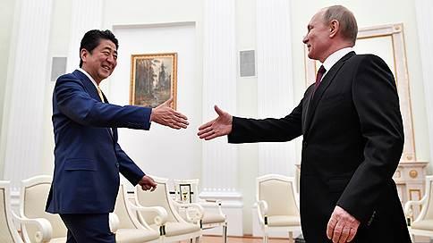 Путин и Абэ начали переговоры в Москве