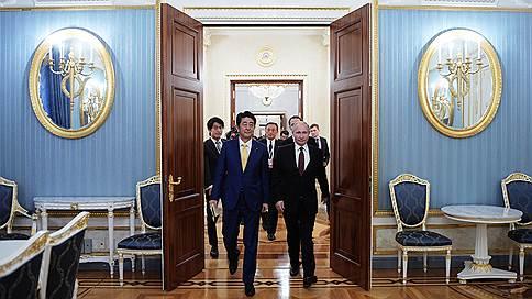 В Москве завершились переговоры Путина и Абэ