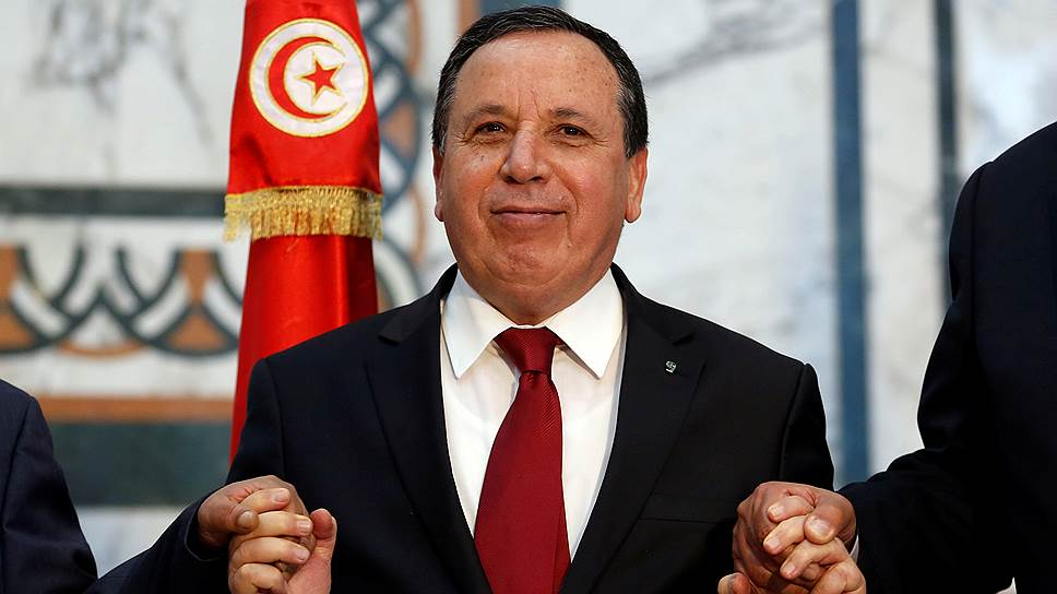 Глава МИД Туниса Хмаис Жинауи