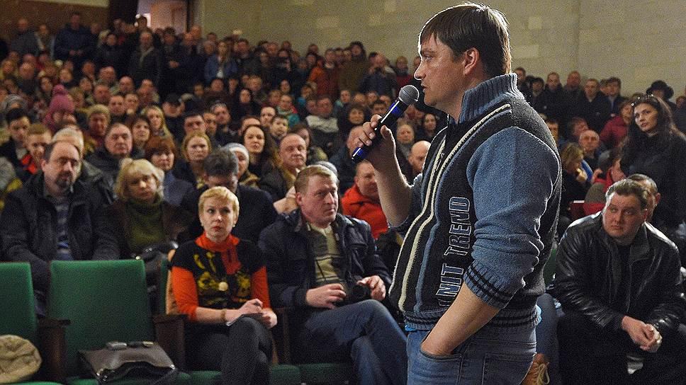 Активист экологического движения «Коломна против» Вячеслав Егоров