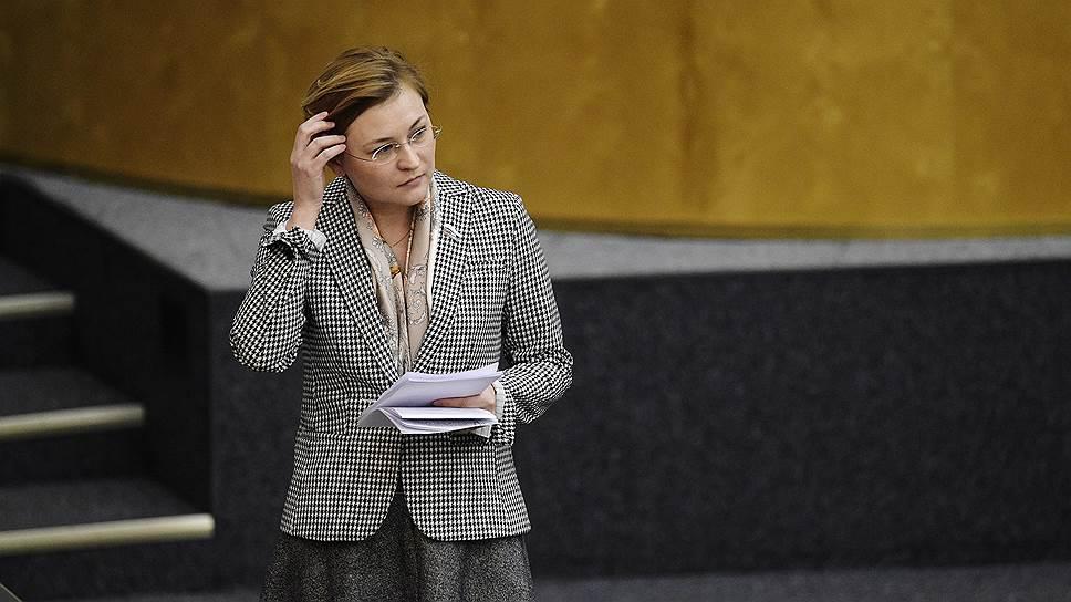 Сенатор Людмила Бокова («Единая Россия»)