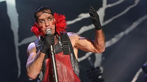 Концерт Rammstein перенесен с ВТБ Арены в Лужники