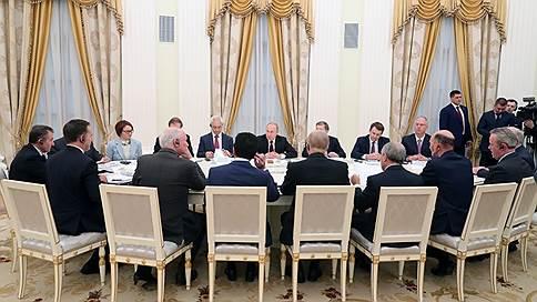 Путин предложил британским бизнесменам поучаствовать в нацпроектах