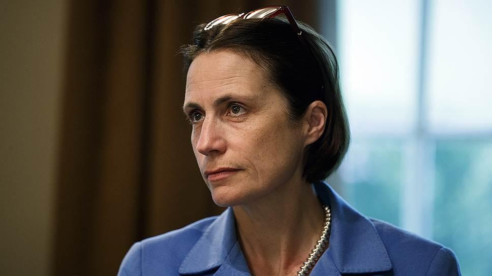 Директор по вопросам России и Евразии Совета по нацбезопасности США Фиона Хилл