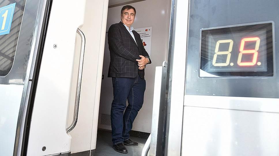 Бывший губернатор Одесской области Михаил Саакашвили