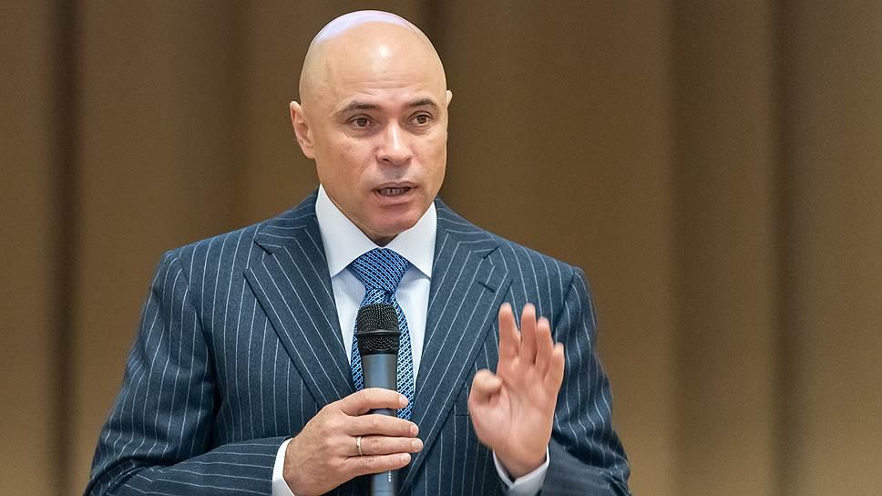 Временно исполняющий обязанности губернатора Липецкой области Игорь Артамонов
