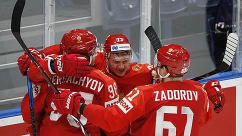Россия обыграла США и вышла в полуфинал ЧМ по хоккею