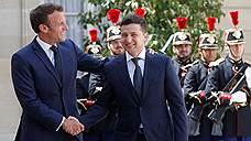 Макрон и Зеленский обсудили встречу в «нормандском формате»