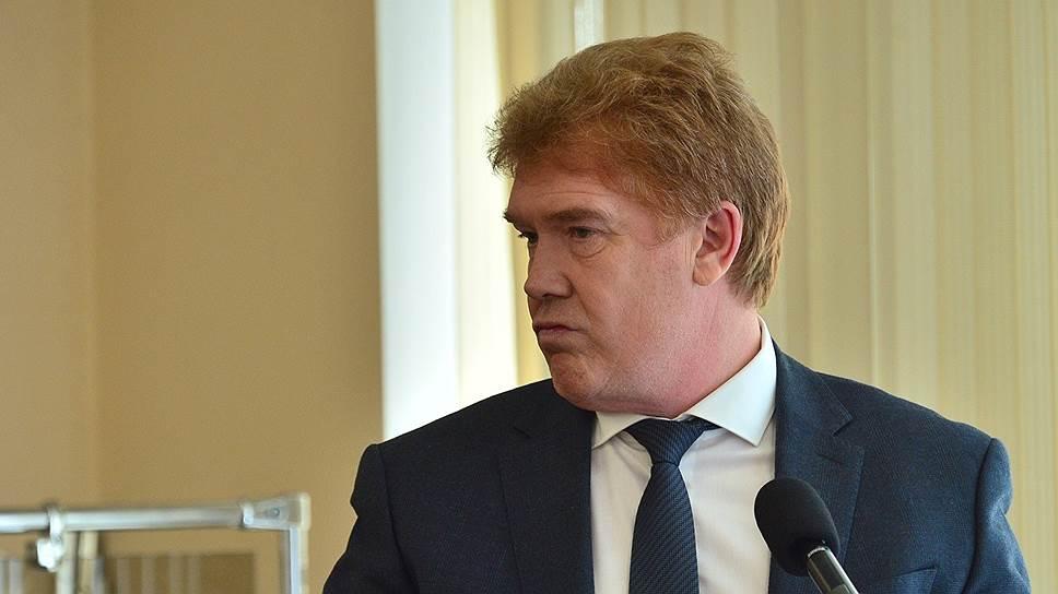 Бывший мэр Челябинска Владимир Елистратов