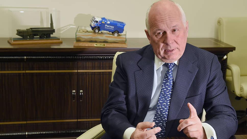 Генеральный директор «Ростеха» Сергей Чемезов