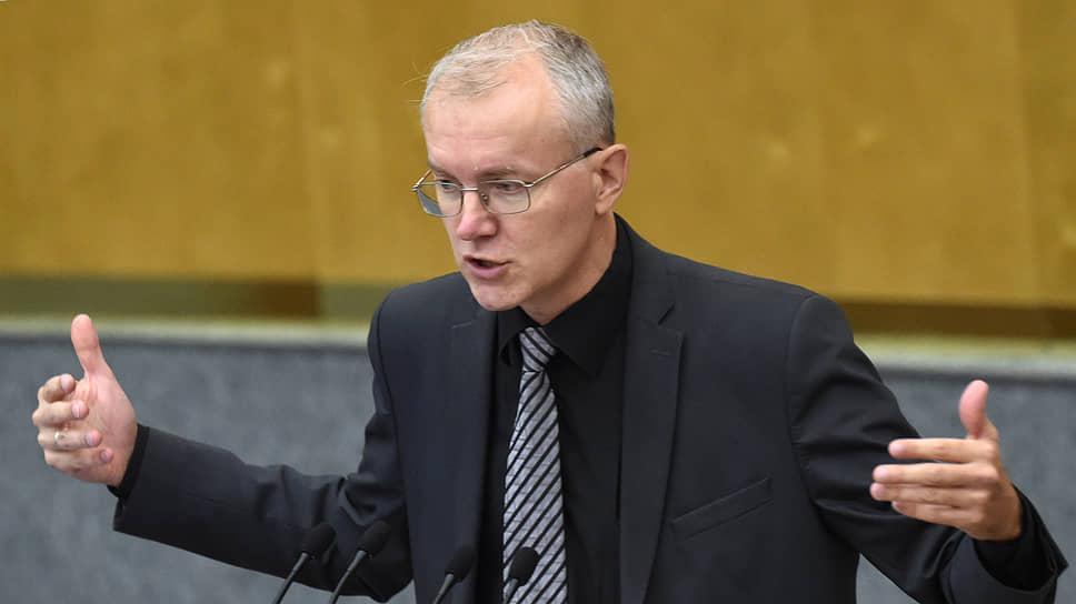 Депутат Госдумы Олег Шеин