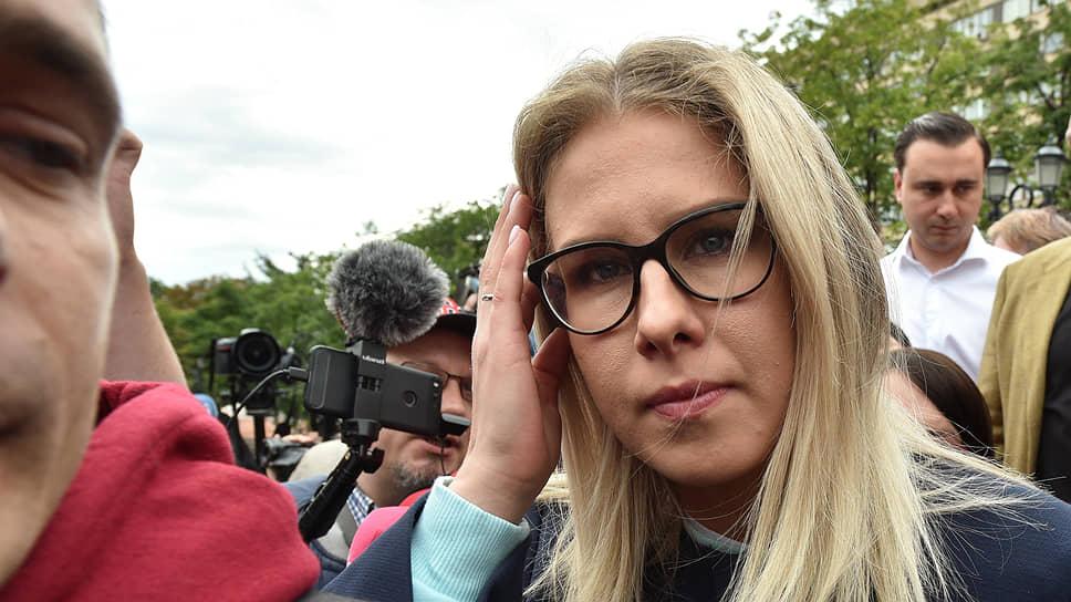 Юрист Фонда борьбы с коррупцией Алексея Навального Любовь Соболь