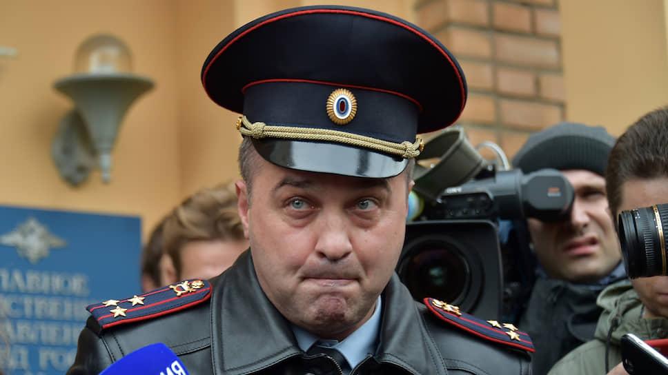 Начальник Управления информации и общественных связей МВД по Москве Юрий Титов