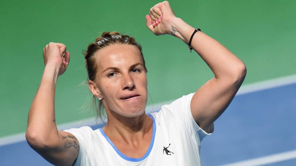 Теннисистка Светлана Кузнецова