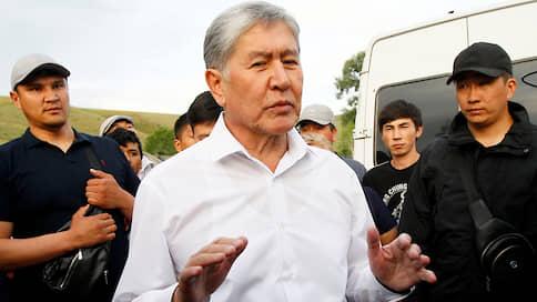 Экс-президент Киргизии Атамбаев сдался после штурма резиденции