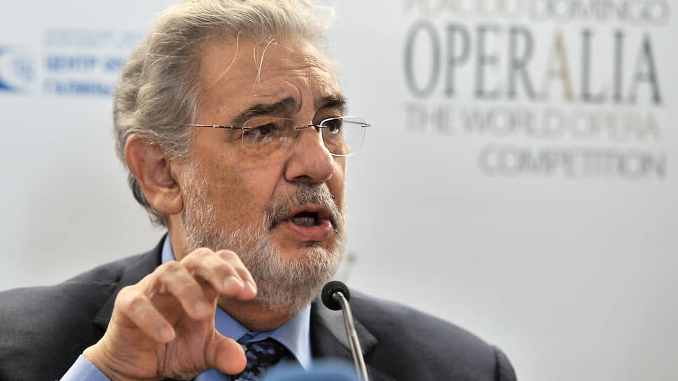 Оперный певец Пласидо Доминго